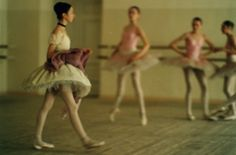 Students of Vaganova Ballet Academy by Deborah Turbeville