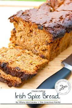 Clean Eating Irish Spice Bread Recipe | The Gracious Pantry Irish Recipes, Mexican Food Recipes, Mini Bread Loaves, Spice Bread, Sweet Bread, International Recipes, Clean Eating Recipes, Bread Recipes, Cookies Et Biscuits