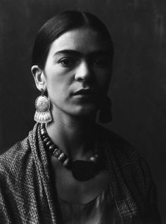 Imogen Cunningham (1883-1976). Frida Kahlo. Photograph.