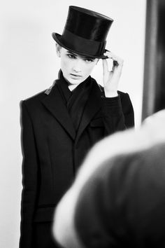 Top hats - Ralph Lauren, Fall 2012