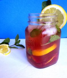 How to Sweet Cherry Whiskey Mojito to Celebrate