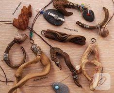 Jewelry Store Near Me Advice Driftwood Jewelry, Driftwood Projects, Driftwood Art, Wooden Jewelry, Handmade Jewelry, Driftwood Sculpture, Jewelry Crafts, Jewelry Art, Pagan Jewelry