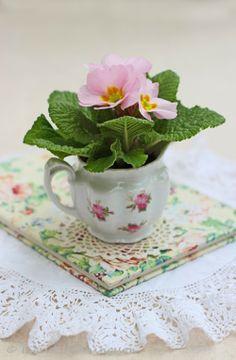 Pink Primroses-Ingrid Henningsson-Of Spring and Summer