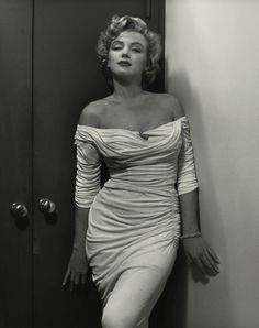 Marilyn Monroe.  That dress...so timeless it could still be worn now.