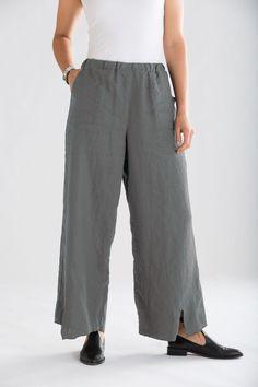 Spring Pocket Pant: Cynthia Ashby: Linen Pant | Artful Home
