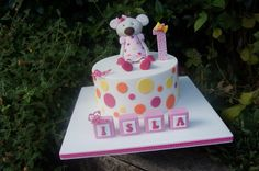 Mouse 1st Birthday Cake