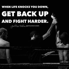 Champions get back up no matter what. Be a champion!  #TWITTER