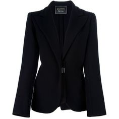 LANVIN Single breasted jacket ($1,300) ❤ liked on Polyvore