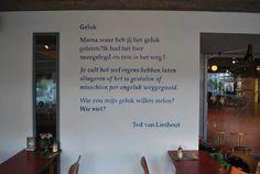 Geluk - Ted van Lieshout Poetry, Van, School, Home Decor, Art, Decoration Home, Room Decor, Vans, Poetry Books
