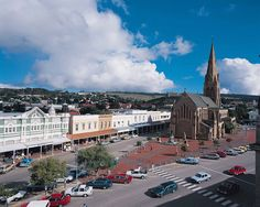 The Anglican Cathedral of St Michael and St George in Grahamstown,South Africa. The high Street has these wonderful C shop fronts. My home town! Anglican Cathedral, My Land, Places Of Interest, South Africa, Landscape Photography, Paris Skyline, Beautiful Places, Saints, Places To Visit