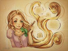 Tiny Rapunzel by Nummyumy on DeviantArt