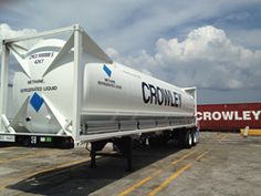 Find Photos Of Crowley Adds 16 ISO Tanks to LNG Equipment Fleet And Much More At RachelMDLong.com