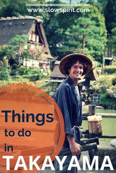 Things to do in Takayama