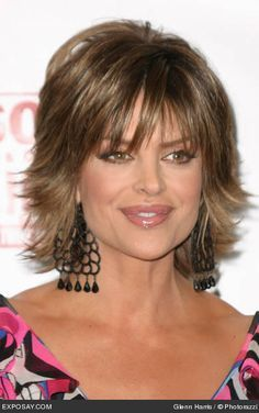 Woman'S Wig Like Lisa Rinna'S Hair Style 121