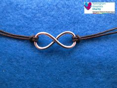TFIOS Infinity cord anklet / bracelet / necklace by FanFayreJewellery on Etsy