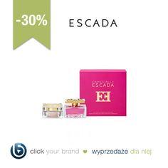 Szukacie prezentów dla bliskich? Warto przyjrzeć się wyprzedaży zestawów kosmetyków. My wybrałyśmy zestaw Escady przeceniony z 390 zł na 270 zł.