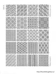 Gallery.ru / Фото #18 - 221 - Fleur55555 Repeating Patterns, One Color, Blackwork, Cross Stitch Patterns, Needlework, Embroidery, Rugs, Antiques, How To Make
