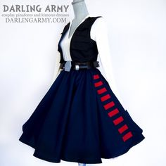 Darling Army Goes Han Solo With A New Skirt, Pinafore, And Kimono Dress