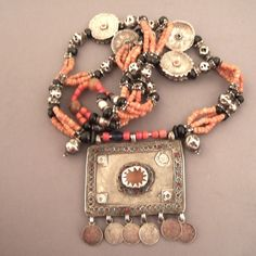 UIGHUR NECKLACE AND PENDANT