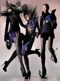 Diary of a Clotheshorse: KENZO AW 13/14 WOMENS AD CAMPAIGN