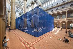 Galería de James Corner Field Operations nos trae su última exposición, ICEBERGS - 2