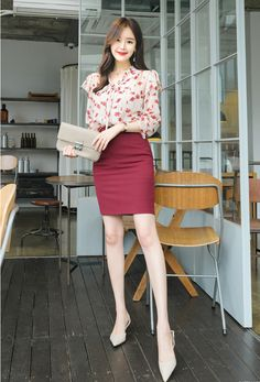 T-Shirts, Dress, Blouse, Skirts, Pants & Best Casual Outfits, Cute Skirt Outfits, Office Outfits Women, Stylish Work Outfits, Office Fashion Women, Girls Fashion Clothes, Comfortable Outfits, Stylish Outfits, Casual Asian Fashion