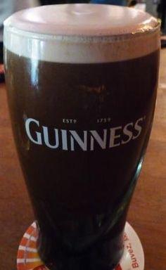 Pint of Guinness at Cork and Cavan Pub