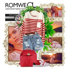 """ROMWE 28"" by fashionmonsters ❤ liked on Polyvore featuring Eva Solo, Love Moschino and romwe"