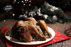 Χριστουγεννιάτικη γέμιση για γαλοπούλα, κοτόπουλο ή κατσικάκι, συναρπαστική!