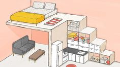 Tiny living 101: Tips for your tiny house or apartment : Curbed