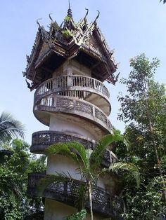 Steps/Doors/Windows/Knobs / Sangkhlaburi Province, Thailand