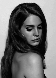 Lana del rey black and white
