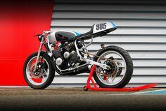 Customised Yamaha XJ600 by Pimmel & Messer
