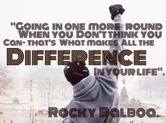 Rocky Quote Rocky Balboajust Yesterday I Watched 1 2 And 5.nanny Life .