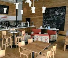 Cafeteria Decor, Bakery Decor, Decoration Vitrine, Shop Facade, Coffee Girl, Coffee Lovers, Cafe Interior Design, Coffee Shop Design, Cafe Bar