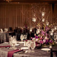 #c2mdesigns #floral #floraldesign #manzanita #tree #centerpiece #wedding #ido #reception #purple #lavender #orchids #mokara #roses #stock #woodland #elegance #formal #creative #LED #kirkbrae #countryclub #event #decor #designsthatrock #Designer: #christinemccaffery