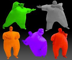 Inflatable Chub Suits See more at http://giftmatters.com/inflatable-chub-suits/