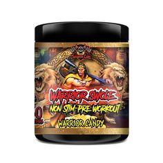 Dungeon Labz Warrior Swole - Warrior Candy Top Supplements, Supplements Online, L Tyrosine, Beta Alanine, Pre Workout Supplement, Rainbow Candy, Root Beer, Watermelon