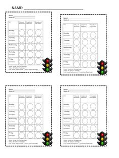 A Not So Wimpy Teacher's Behavior Management Manual: Primary daily Report…