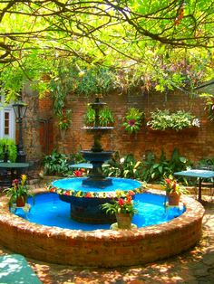 The courtyard, Court of Two Sisters restaurant, New Orleans. The Places Youll Go, Places To Go, New Orleans Travel, Condo, New Orleans Louisiana, Destinations, Crescent City, Belleza Natural, French Quarter