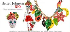 Betsey Johnson Calaca Skull Rio Collection :)     Maybe Carmen Miranda Skull??