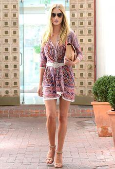 Quién.com : El street style de Rosie Huntington