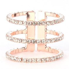 Romantic and trendy rose gold!  Become a member and create your wishlist, today!  http://www.ourjewelryclub.com/shop/romantic-rose-gold-ring/