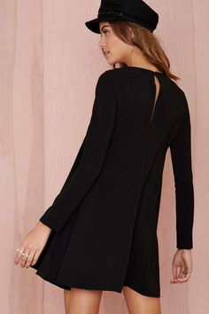 Nasty Gal Mood Swing Dress - Black - Dresses | LBD | Day | Shift | Going Out