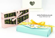 Stampin' Up! Demonstrator Pootles - Easy No Glue Clutch Bag Tutorial with Whole Lot of Lovely