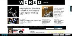 @Wired :Get in-depth coverage of current and future trends in technology, and how they are shaping business, entertainment, communications, science, politics, and culture at Wired.com.