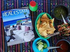 Let's fiesta! Chips, salsa, and a good read, the weekend is here! Cheers!!