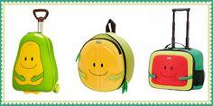 Maletas, mochilas, neceseres, fiambreras... nueva colección Fruits de Samsonite