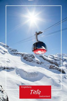 So awesome to go up Mount Titlis. Beautiful Places To Visit, Places To See, Travel Guides, Travel Tips, Travel Advice, Travel Stuff, Mount Titlis, Trains, Swiss Travel