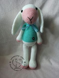 Max The Rabbit amigurumi toy